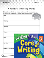 Writing Lesson Level 2 - Using Vibrant Color Words