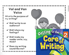 Writing Lesson Level 2 - Using Your Voice as a Writer