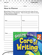 Writing Lesson Level 2 - Writing Directions