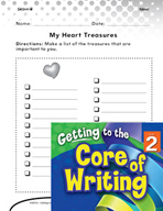 Writing Lesson Level 2 - Writing Ideas from My Treasures