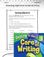 Writing Lesson Level 3 - Amazing Adjectives