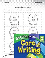 Writing Lesson Level 3 - Banished, Boring Words