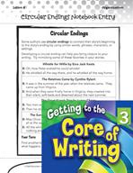 Writing Lesson Level 3 - Circular Endings