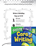 Writing Lesson Level 3 - Components of Writer's Workshop