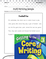 Writing Lesson Level 3 - Editing with C-U-P-S