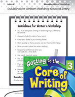Writing Lesson Level 3 - Guidelines for Writer's Workshop