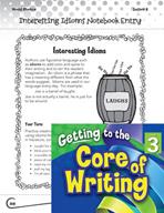 Writing Lesson Level 3 - Interesting Idioms