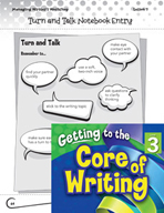 Writing Lesson Level 3 - Peer Conferences Turn and Talk