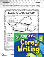 Writing Lesson Level 3 - Quotation Marks