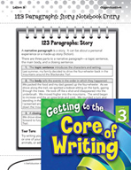 Writing Lesson Level 3 - Story Paragraphs