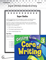 Writing Lesson Level 3 - Super Similes