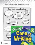 Writing Lesson Level 3 - Teacher and Peer Conferences