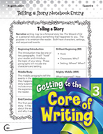 Writing Lesson Level 3 - Telling a Story