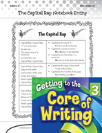 Writing Lesson Level 3 - The Capital Letter Rap