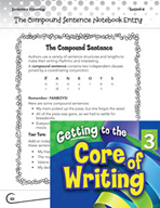 Writing Lesson Level 3 - The Compound Sentence