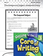 Writing Lesson Level 3 - The Compound Subject