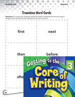 Writing Lesson Level 3 - Transition Words