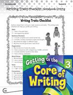 Writing Lesson Level 3 - Writing Traits Checklist