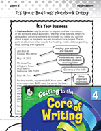 Writing Lesson Level 4 - Business Letters