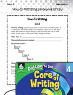 Writing Lesson Level 4 - How-to Writing