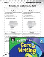 Writing Lesson Level 4 - Sharing Writing