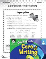 Writing Lesson Level 4 - Super Spellers
