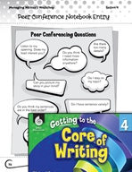 Writing Lesson Level 4 - Teacher and Peer Conferences