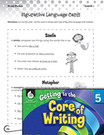 Writing Lesson Level 5 - Figurative Language