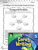 Writing Lesson Level 5 - Focusing on the Five Senses