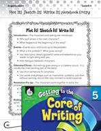 Writing Lesson Level 5 - Plot It! Sketch It! Write It!