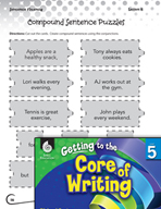 Writing Lesson Level 5 - Sentence Inventors