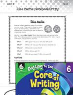 Writing Lesson Level 6 - Idea Cache