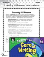 Writing Lesson Level 6 - Presenting Pronouns