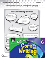 Writing Lesson Level 6 - Teacher and Peer Conferences