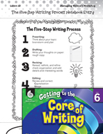 Writing Lesson Level 6 - The Five-Step Writing Process