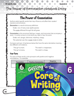 Writing Lesson Level 6 - The Power of Connotation