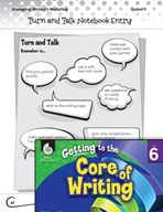 Writing Lesson Level 6 - Turn and Talk with Writing