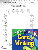 Writing Lesson Level K - Connecting Sounds to Names