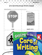 Writing Lesson Level K - Environmental Print