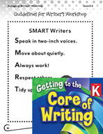 Writing Lesson Level K - Guidelines for Writer's Workshop