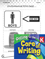 Writing Lesson Level K - Sentence Starts and Stops