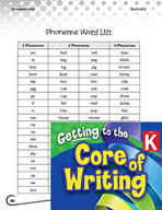 Writing Lesson Level K - Sounding Out Words