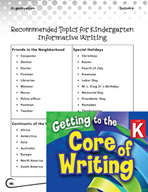Writing Lesson Level K - Tell, Sketch, and Write Informative Text