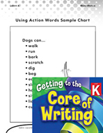 Writing Lesson Level K - Using Action Words