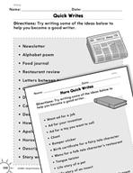 Writing: Writing Practice