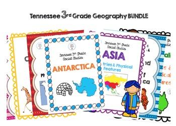 TN 3rd Grade Social Studies Bundle