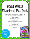 TN 4.LS2.3 & 4 Food Webs Bundle