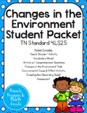 TN 4.LS2.5 Changes in the Environment Bundle