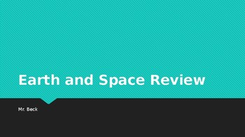 TN 5th Grade Earth and Space Guided Notes Review PPT