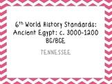 TN 6th grade World History Standards part 3